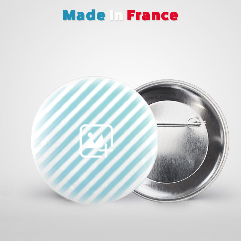 badge rond 45mm