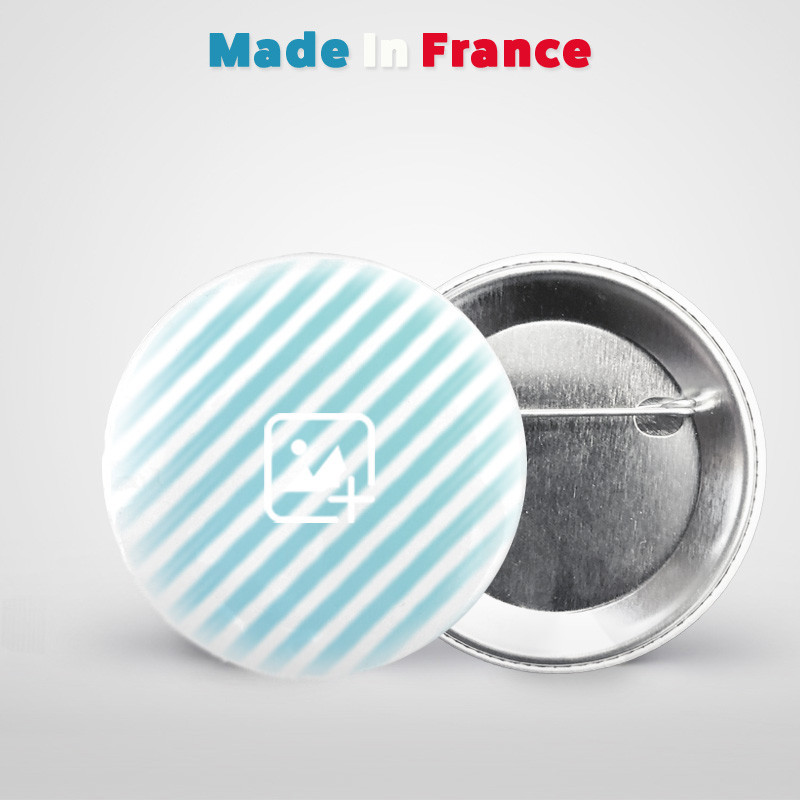 badge rond 75mm