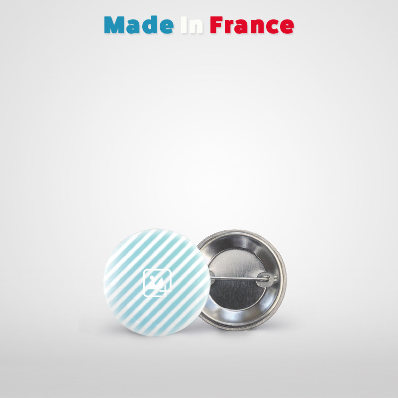 badge rond 32mm