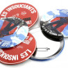 badge rond 100mm