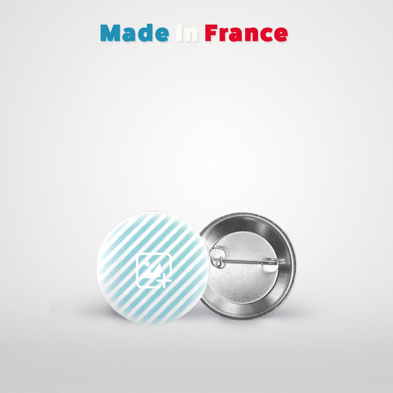 badge rond 38 mm